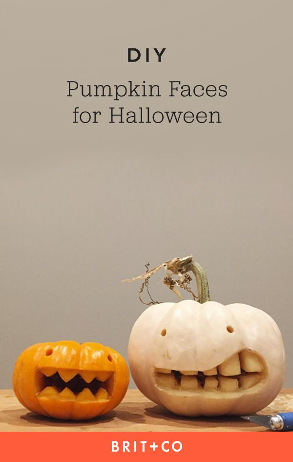 29 Creative Pumpkin Faces to Carve for