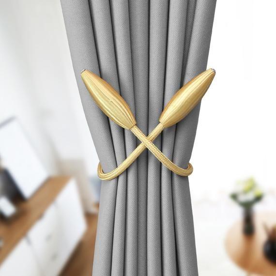 Handmade One Pair Of Creative Curtain Rope Modern Design Twist