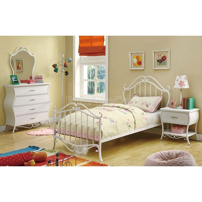 girls white bedroom furniture set fine. coaster bella collection metal youth twin bed in white finish girls bedroom furniture set fine