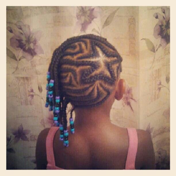 Cool 1000 Images About Natural Kids Heart Star Braids On Pinterest Hairstyles For Women Draintrainus