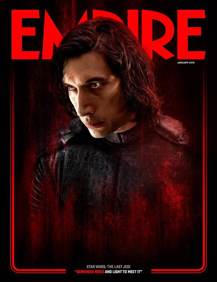 Check out the Last Jedi Empire covers featuring Rey and Kylo Ren. Star Wars: The Last Jedi opens in regular and IMAX theaters on December 15, 2017.