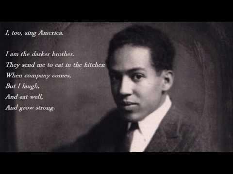 Langston Hughes - I, Too - YouTube