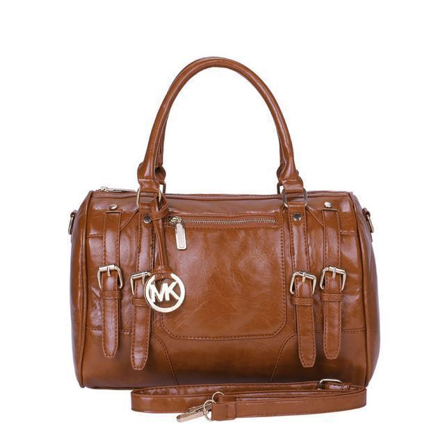 Share Michael Kors - Michael Kors Grayson Logo Large Brown Satchels $68