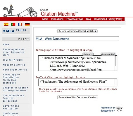 Son of Citation Machine: go to http://citationmachine.net (the original site didn't have picture to let me Pin it.)     If you have to use APA to cite sources, this website is a GOD SEND!!! I love it!!!