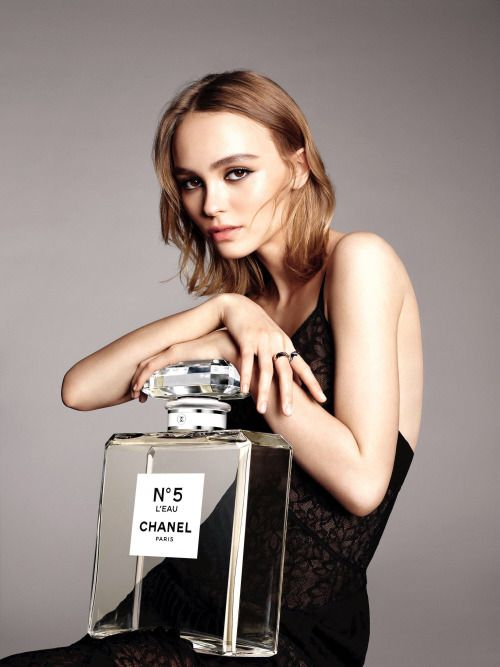 Lily Depp for Chanel