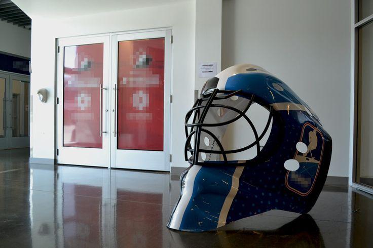 Beton polerowany X-Floor® w foyer hali sportowej.