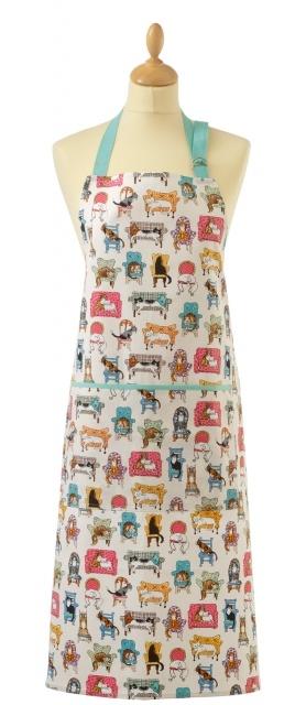 Lounge Cats - apron :)