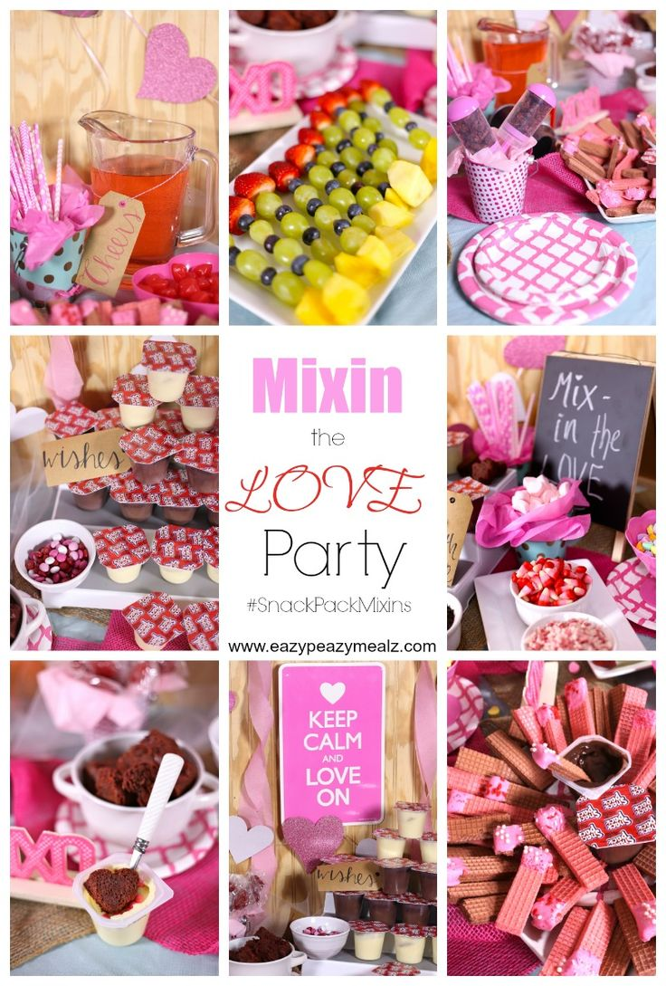 52 best valentine 39 s day recipes images on pinterest for Valentines day party foods
