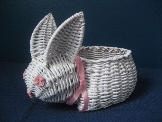 Bunny paper wicker