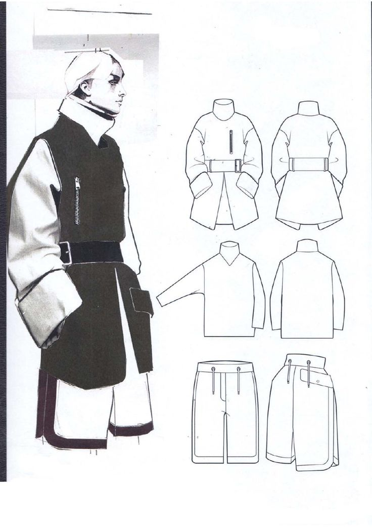 Fashion Sketchbook - fashion illustration & fashion design flats; fashion portfolio layout // Andrew Voss                                                                                                                                                                                 More