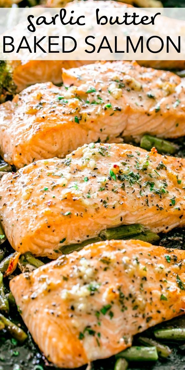 Saumon Au Beurre D Ail Cuit In 2020 Seafood Dinner Healthy Salmon Recipes Easy Salmon Recipes