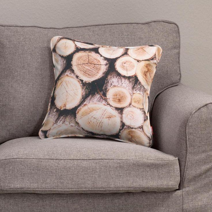 Poszewka Gabi na poduszkę 45 x 45 cm w kolekcji Norge, tkanina: 140-92 #meble #nowosc #livingroom #salon #furniture #white #idea #home #dom #design #interior #wnetrze #urzadzamy