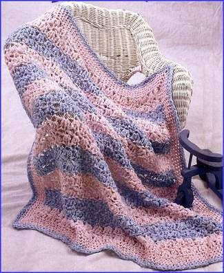 Free Crochet Patterns With Baby Yarn : 261 best Crochet Baby Blankets images on Pinterest