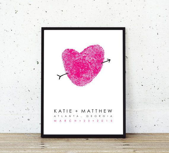Wedding Guest Book Your Fingerprints - Wedding Guestbook Alternative - Unique Custom Guest Book - Fingerprint Wedding Poster