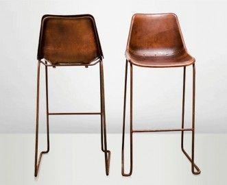 Chaise haute Godard - marron