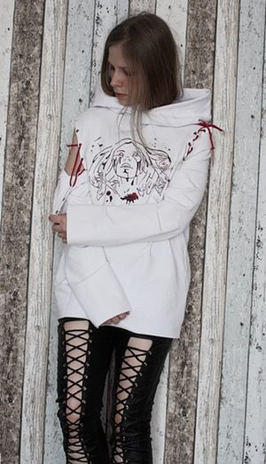 Image of Ladies' Bloody Harlot Tunic/Vest