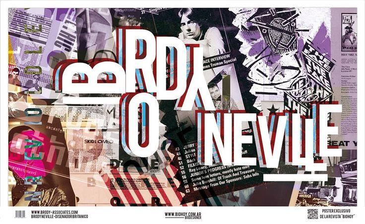 """Proceso -Diseño de poster para la  revista  """"BIOHOY"""" Brody Neville: Las Cholas Arte Visual ©"""