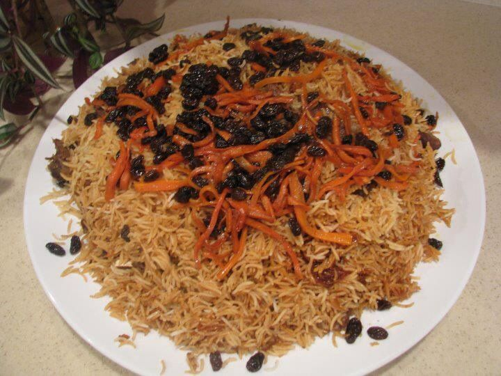 Kabuli Pulao is Afghanistan's national dish, which I think is a perfect answer to Mughlai Biryani. In Afghan culture, Kabuli Pulao is a delicious 'must-be-served' food. Afghan cuisine isn't as richly spiced as Mughlai cuisine in Indian sub-continent, but is tastefully balanced. The main spices used to flavour the Kabuli pulao are garam masala and…