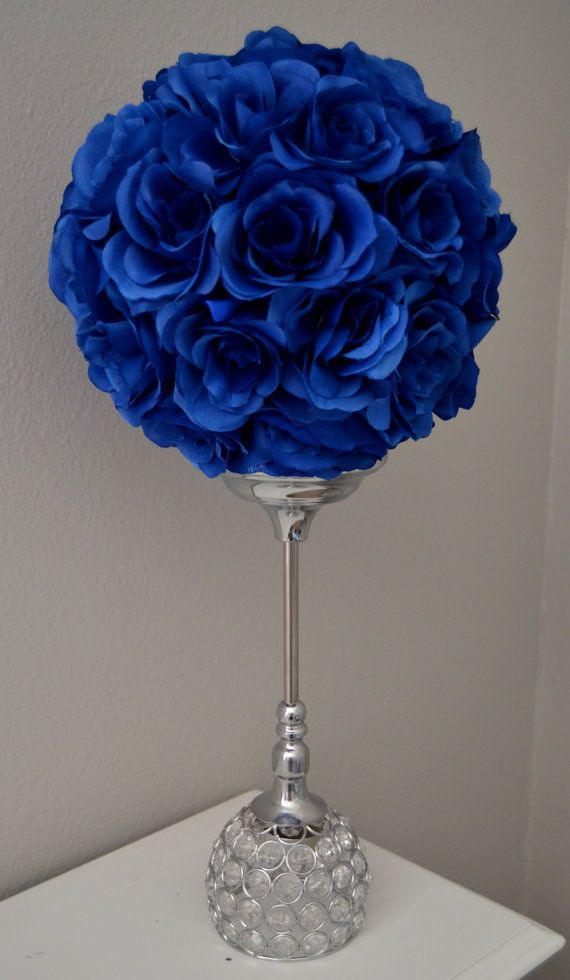 best  blue flower centerpieces ideas only on   blue, Beautiful flower