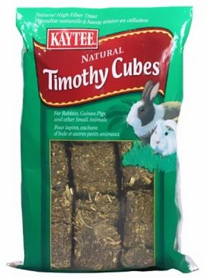 Kaytee Timothy Cubes are compressed blocks of Timothy Hay that are ideal for small #pets.