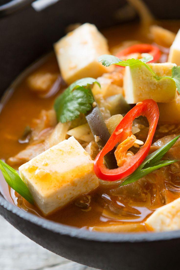 Véritable baume pour l'âme, cette soupe saine et copieuse aromatisée au thé…