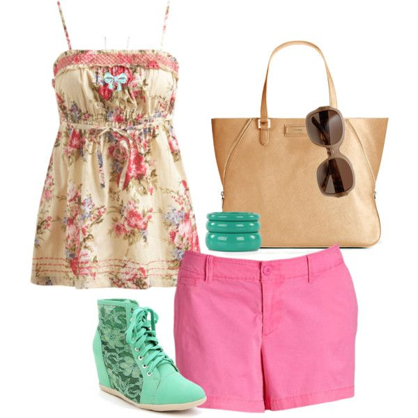 Fun Teen Summer Outfit! by jjanstover on Polyvore