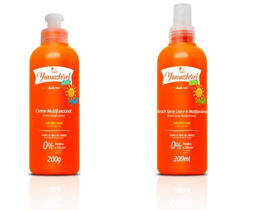 produtos para usar nos cabelos cacheados durante o verão