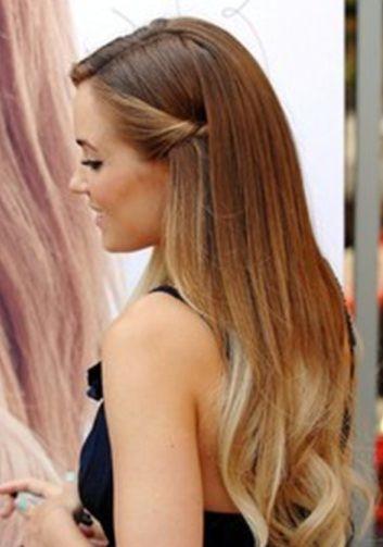 Einfache Frisuren Ideen 2015 Wegstecken Hair Hair Styles Und