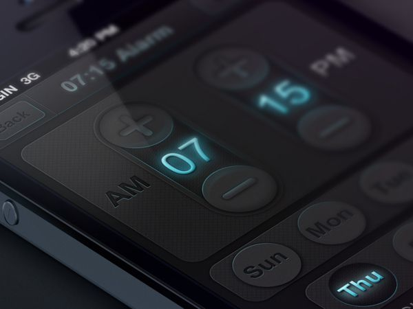 #UI Time controller on #Behance