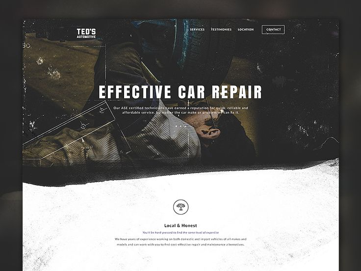 Ted's Auto Website