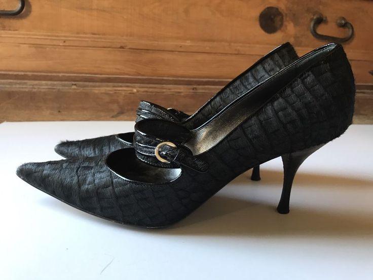 Casadei волос на скрыть черные каблуки! nordstrom размер 7.5 - италия | Одежда, обувь и аксессуары, Женская обувь, Обувь на каблуке | eBay!