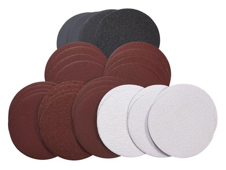 PARKSIDE® Schleifpapier-Set für Druckluft Exzenterschleifer, 30-teilig 1