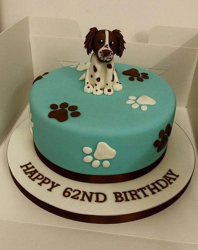 Birthday Cake Ideas Dog : 17 Best ideas about Puppy Birthday Cakes on Pinterest ...