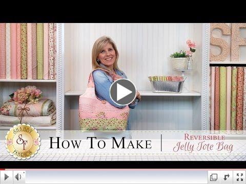How to Make a Reversible Jelly Roll Bag | with Jennifer Bosworth of Shabby Fabrics