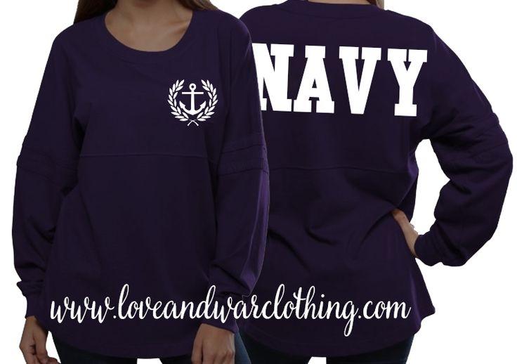 Navy varsity crew - LOVEANDWARCLOTHING