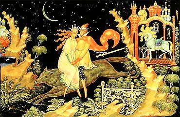 "S.Kamanin. ""Russian Fairy Tales"""