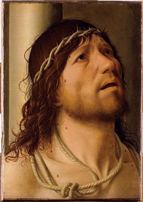 Christ à la Colonne (détail), par Antonello da Messina