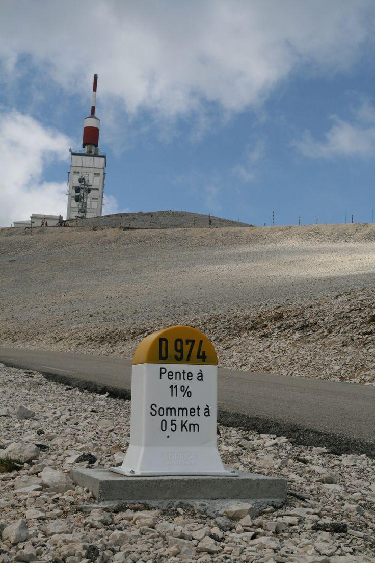 top van de Mont Ventoux