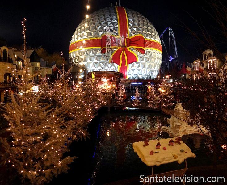 Europa-park em Rust na Alemanha durante o Natal