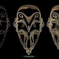 filigrane skull WIP