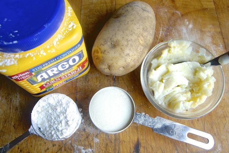 Substitute for potato flour via @kingarthurflour