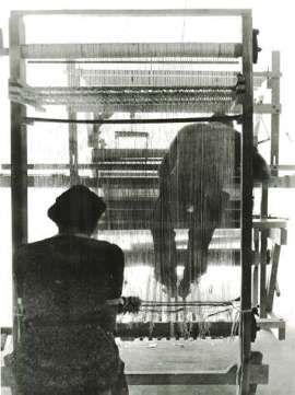 weaving students | Black Mountain College | Black Mountain, North Carolina, U.S.A. | c. 1933-1956