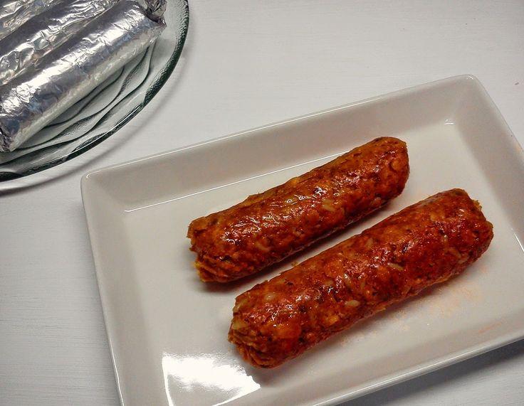 Chorizos Veganos de Cereales.
