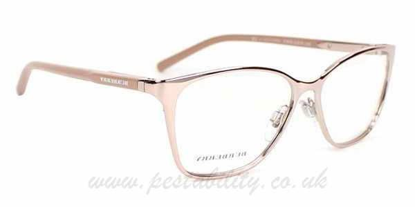 cf0525ad64 FD396567 Pink Gold Burberry Glasses ...