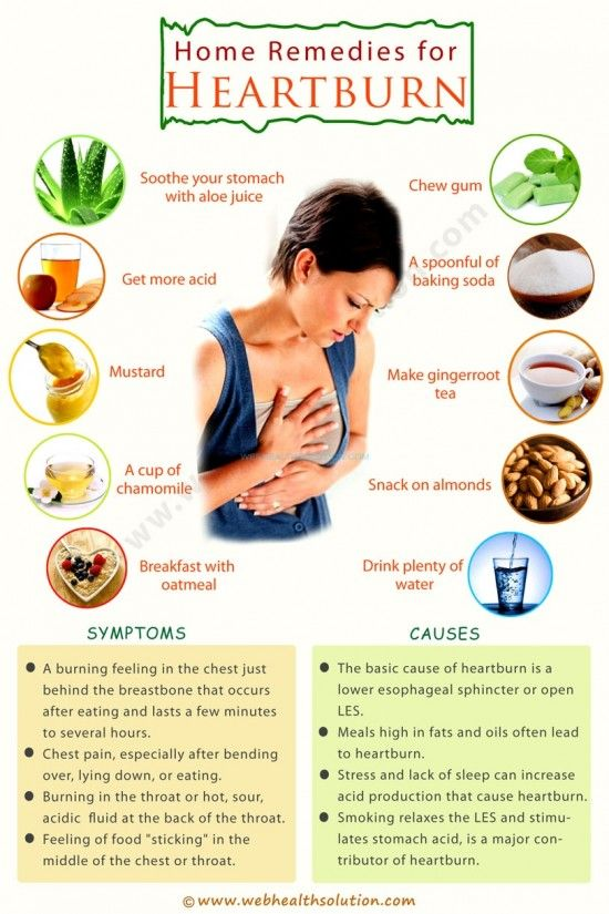 The Best DIY Heartburn Remedies                                                                                                                                                                                 More