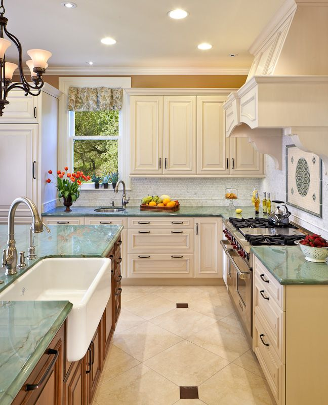 Emerald Quartzite Countertop And Bentwood Cabinetry. Kitchen U0026 Bath Cottage  Is An