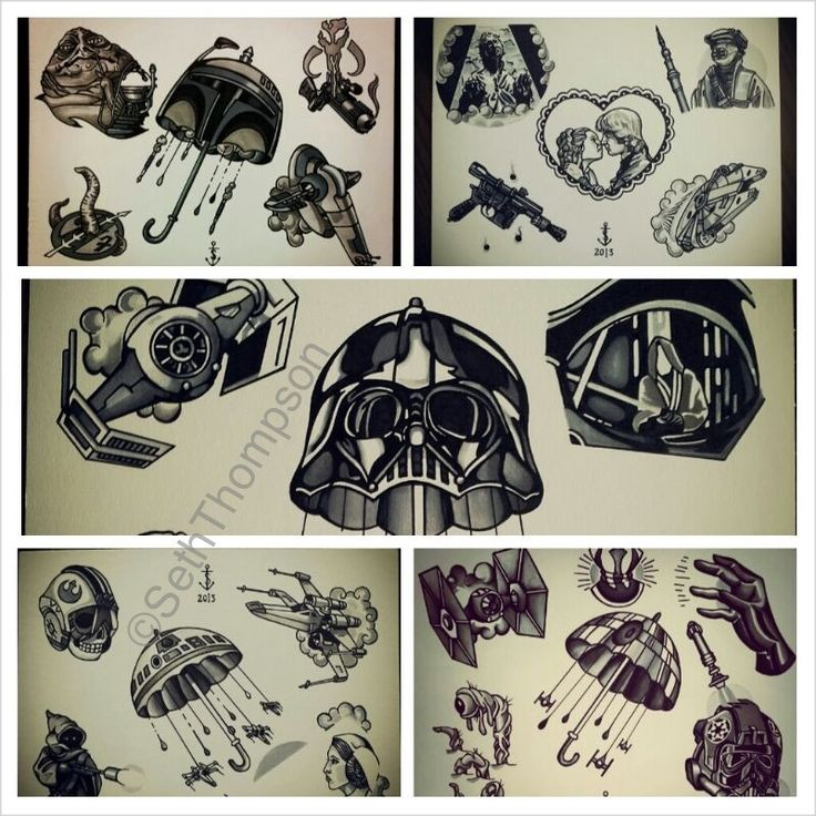 105 best images about Star Wars tattoos on Pinterest ...
