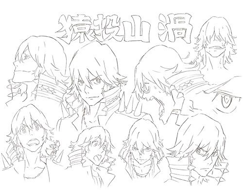 KILL LA KILL Character Sheets for Sanageya Uzu ★ || CHARACTER DESIGN REFERENCES (www.facebook.com/CharacterDesignReferences & pinterest.com/characterdesigh) • Love Character Design? Join the Character Design Challenge (link→ www.facebook.com/groups/CharacterDesignChallenge) Share your unique vision of a theme every month, promote your art and make new friends in a community of over 20.000 artists! || ★