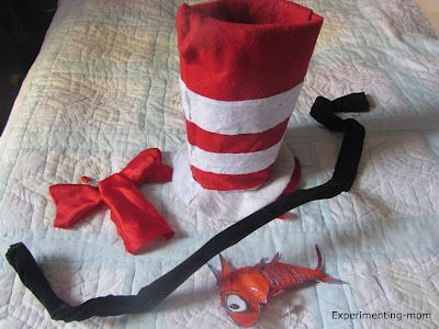 {No-Sew Cat in the Hat Costume} #CampSunnyPatch #DressUp