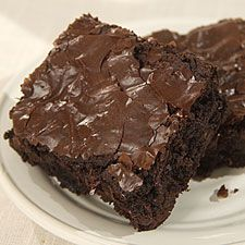 These are my Favorite brownie and they only take a few minutes more than a boxed mix.  Mmmm have some in the oven right now!